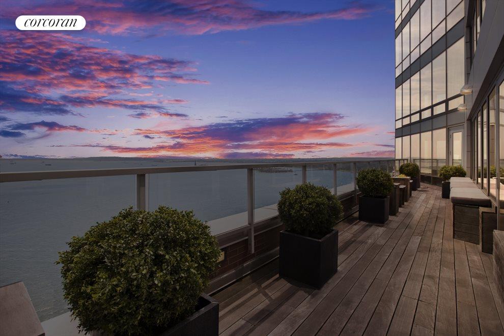 Terrace with Exceptional Sunsets