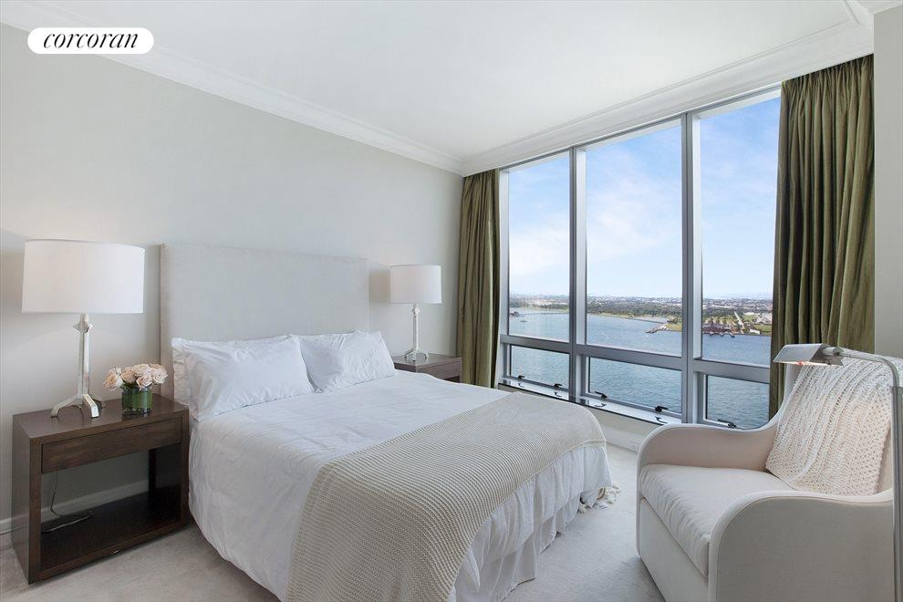 2nd Bedroom with Direct Western River Views