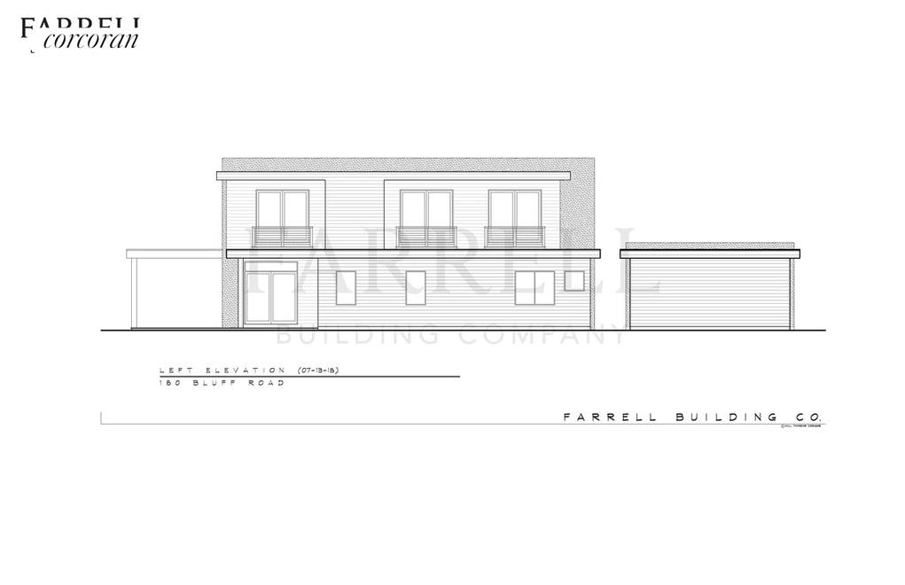 180 Bluff Road, front rendering