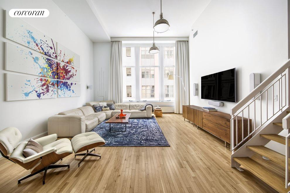 New York City Real Estate | View 121 West 19th Street, #3E | 3 Beds, 2 Baths