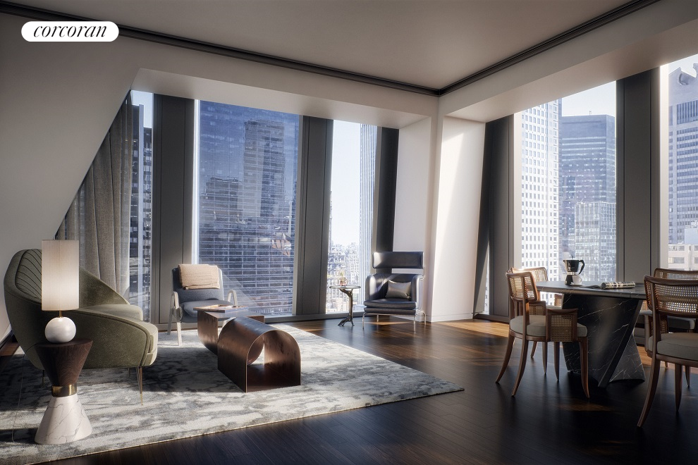 53 West 53rd Street, 18A, Living Room