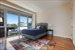 125 North 10th Street, S4E, Master Bedroom with open sky views