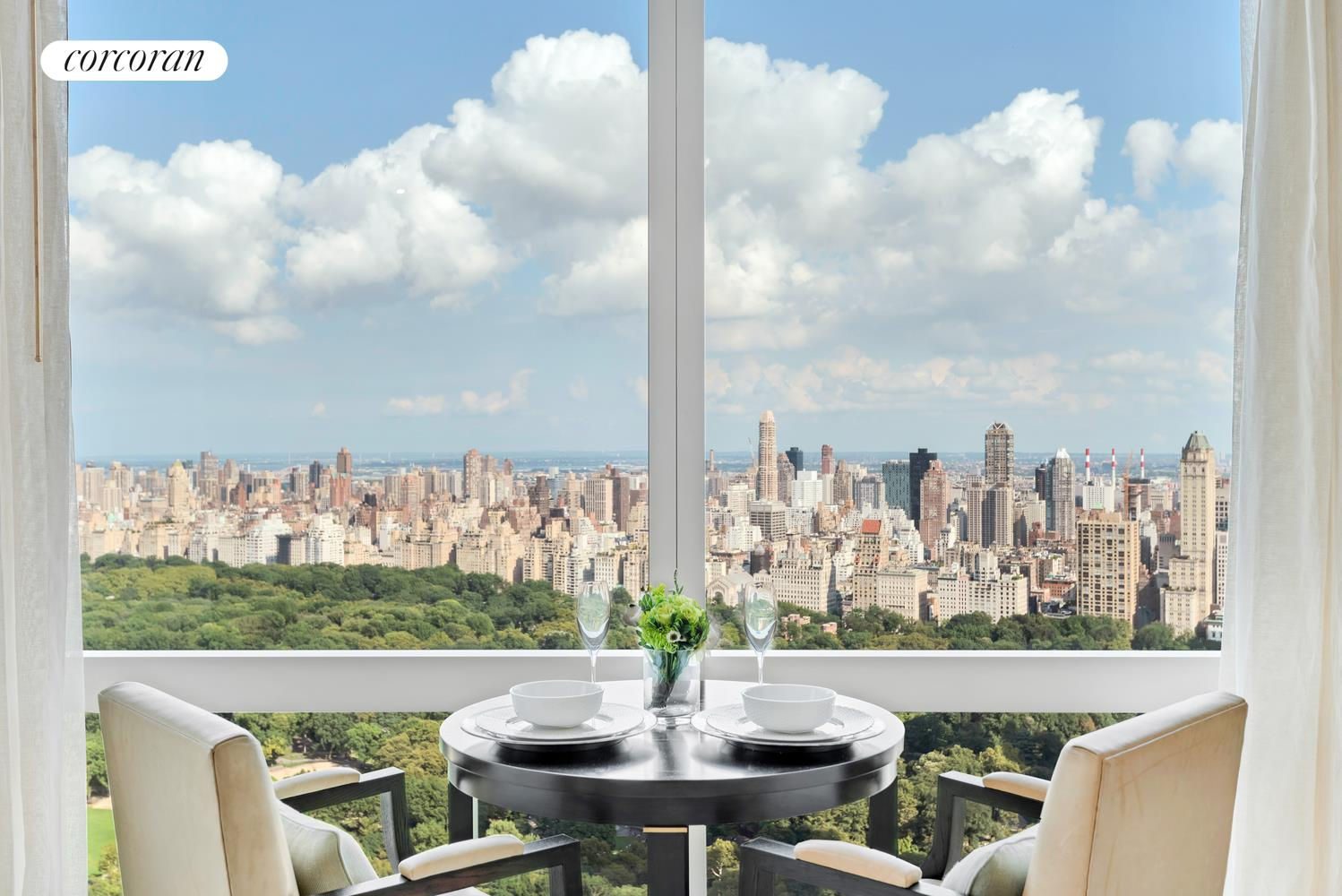 25 Columbus Circle 61b View Of Central Park