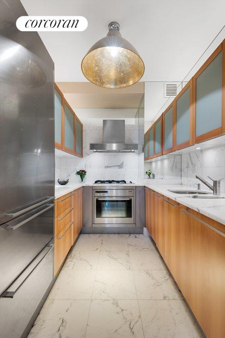 High-end kitchen with top of the line finishes
