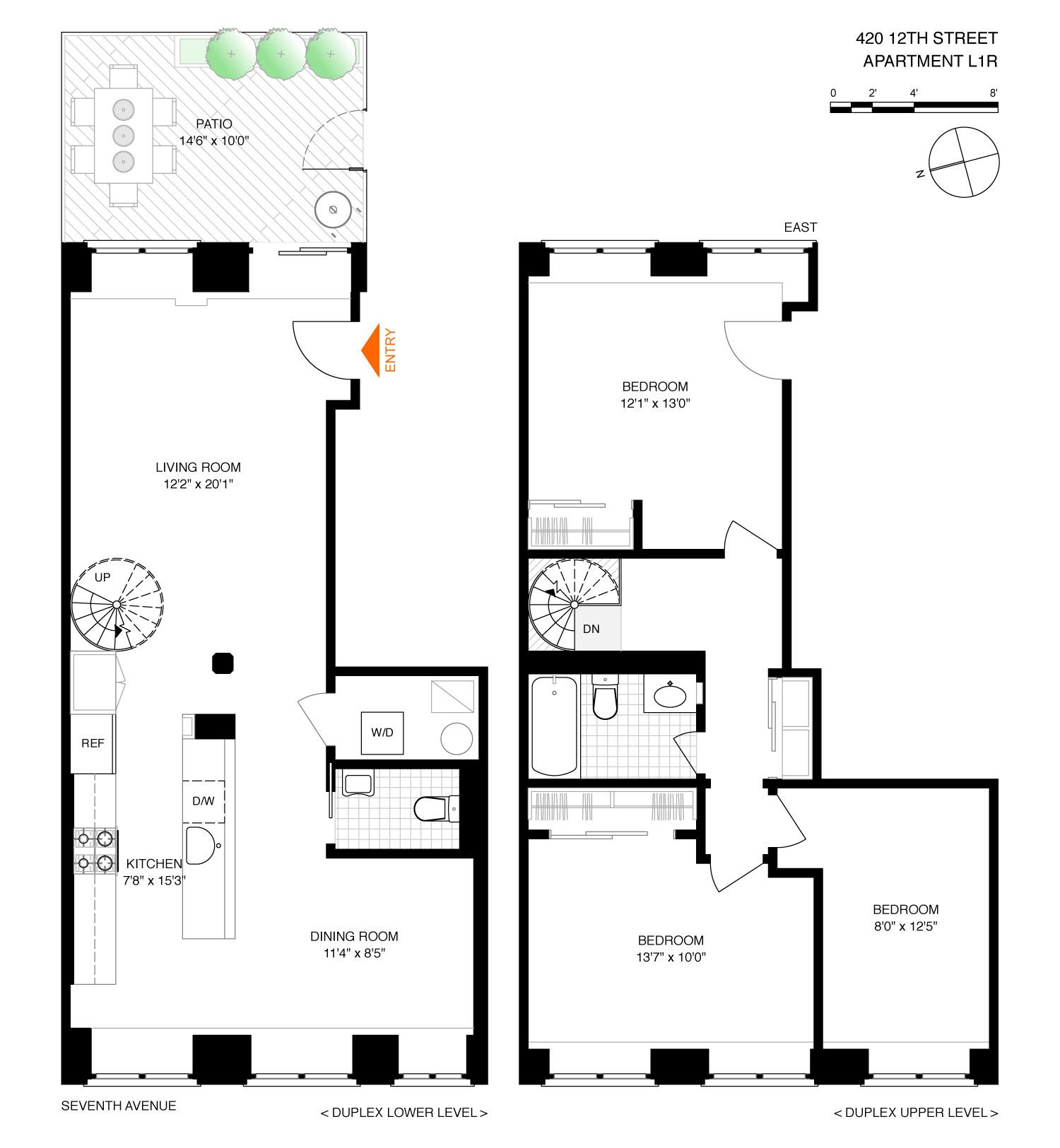 Corcoran, 420 12th Street, Apt  L1R, Park Slope Real Estate