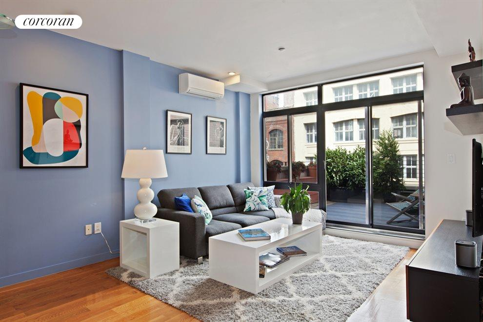 New York City Real Estate | View 14 Hope Street, #PHB | 2 Beds, 2 Baths