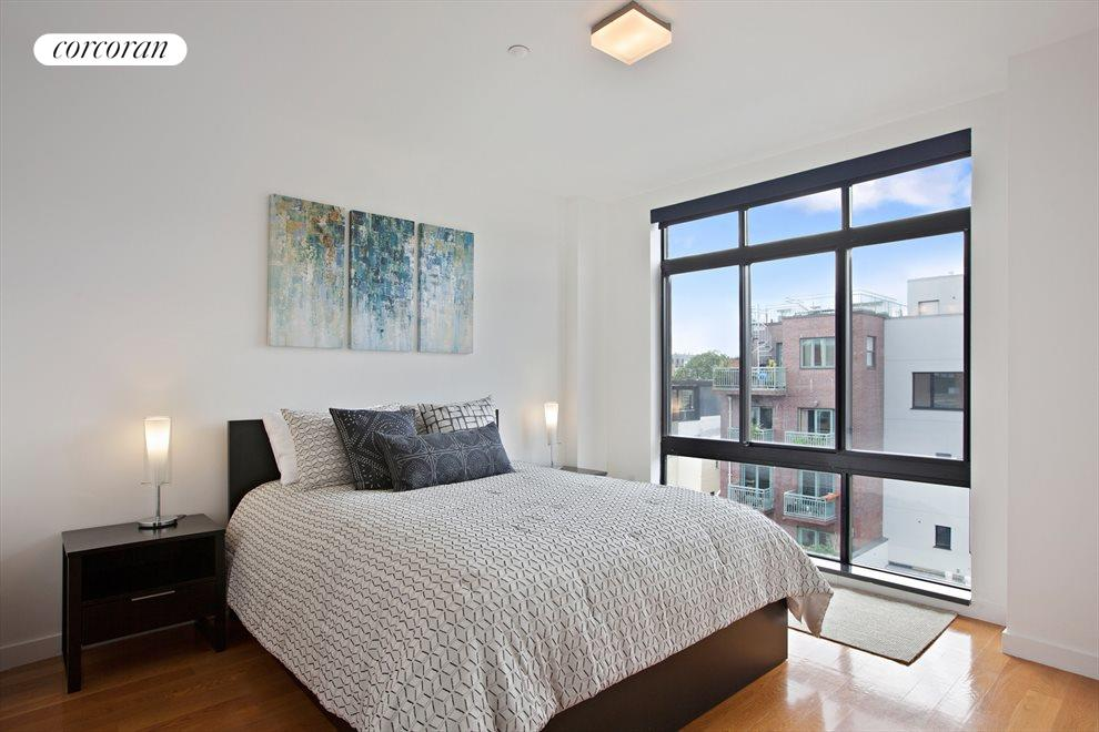 New York City Real Estate | View 14 Hope Street, #PHB | Master Bedroom