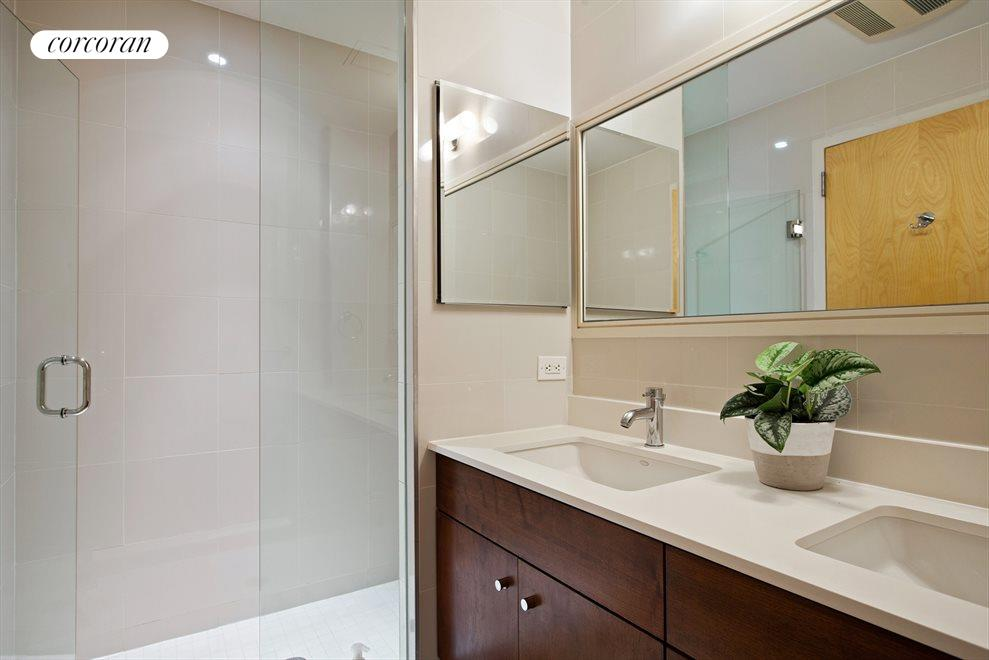 New York City Real Estate | View 14 Hope Street, #PHB | Master Bathroom