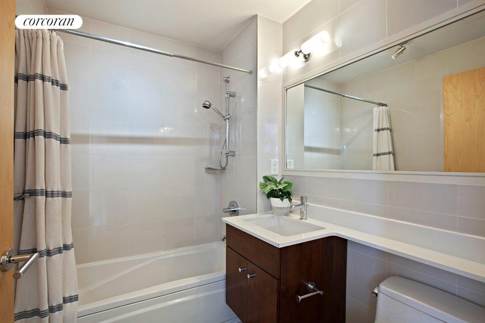 New York City Real Estate | View 14 Hope Street, #PHB | Bathroom