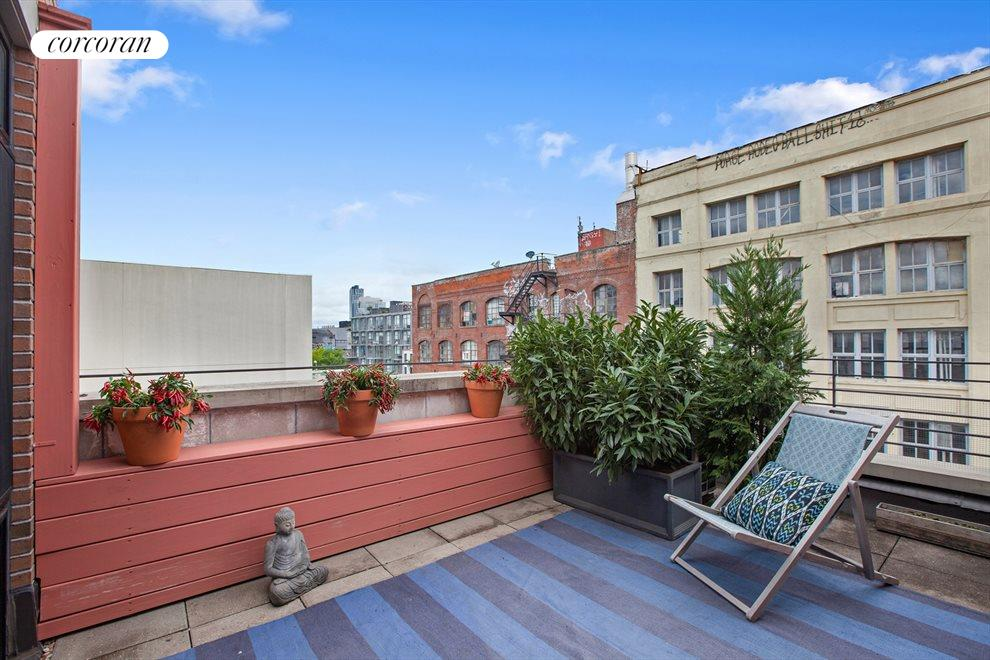 New York City Real Estate | View 14 Hope Street, #PHB | Terrace