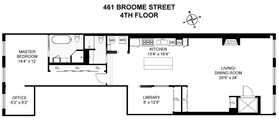 461 Broome Street, Soho, New York