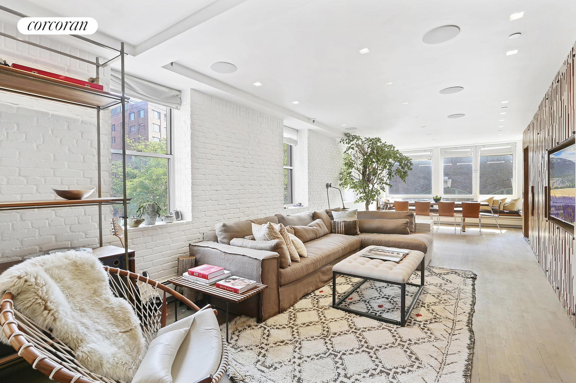 692 Greenwich Street, 3 FL, Living Room