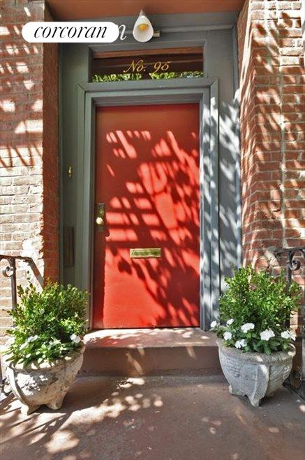 Inviting front door