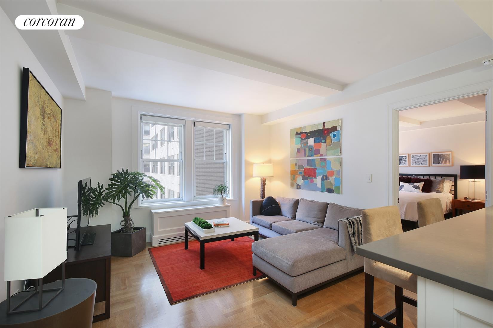 27 West 72nd Street, 615, Living Room