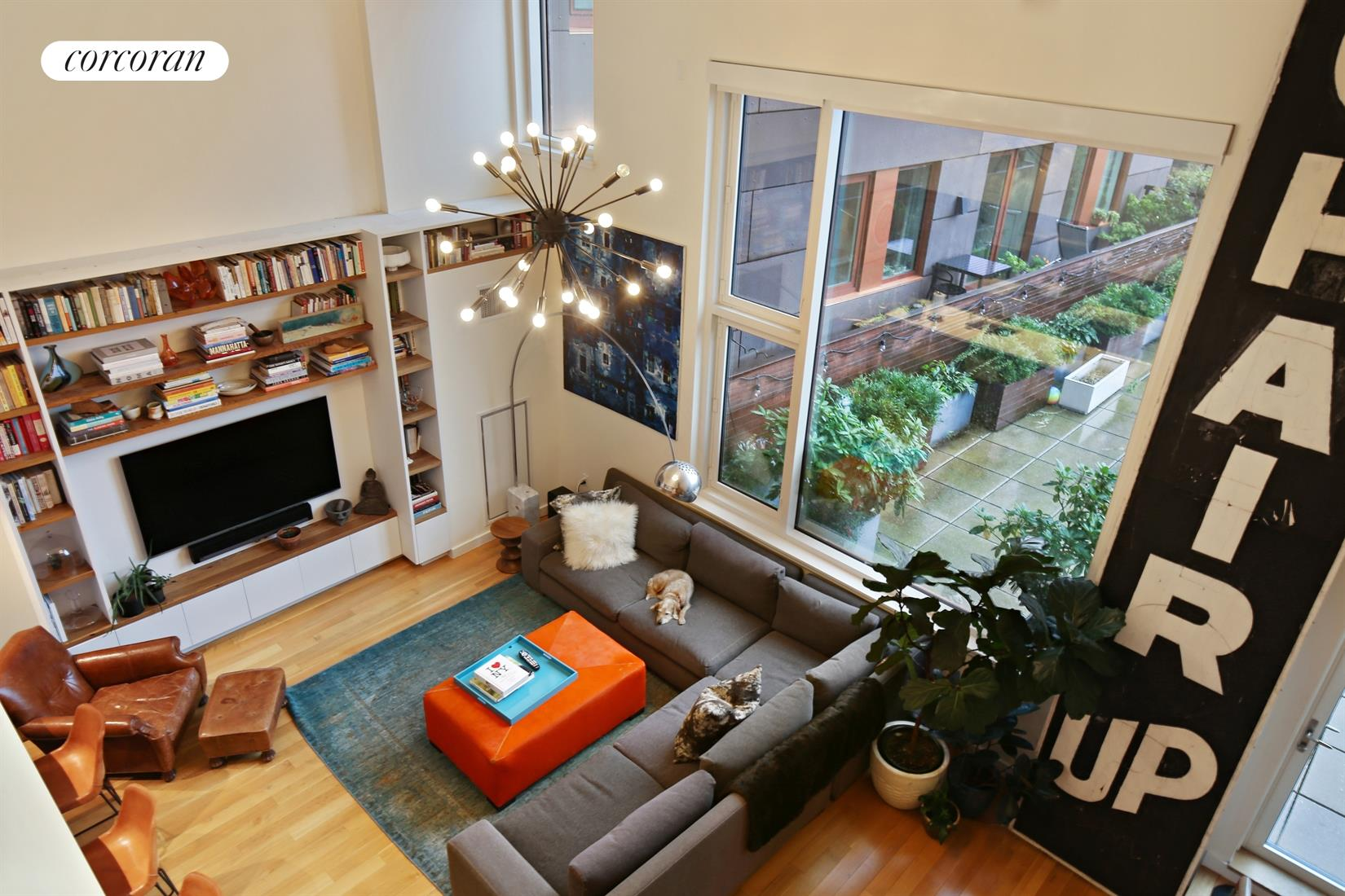 291 Union Street, 3A, Double Height Living Room