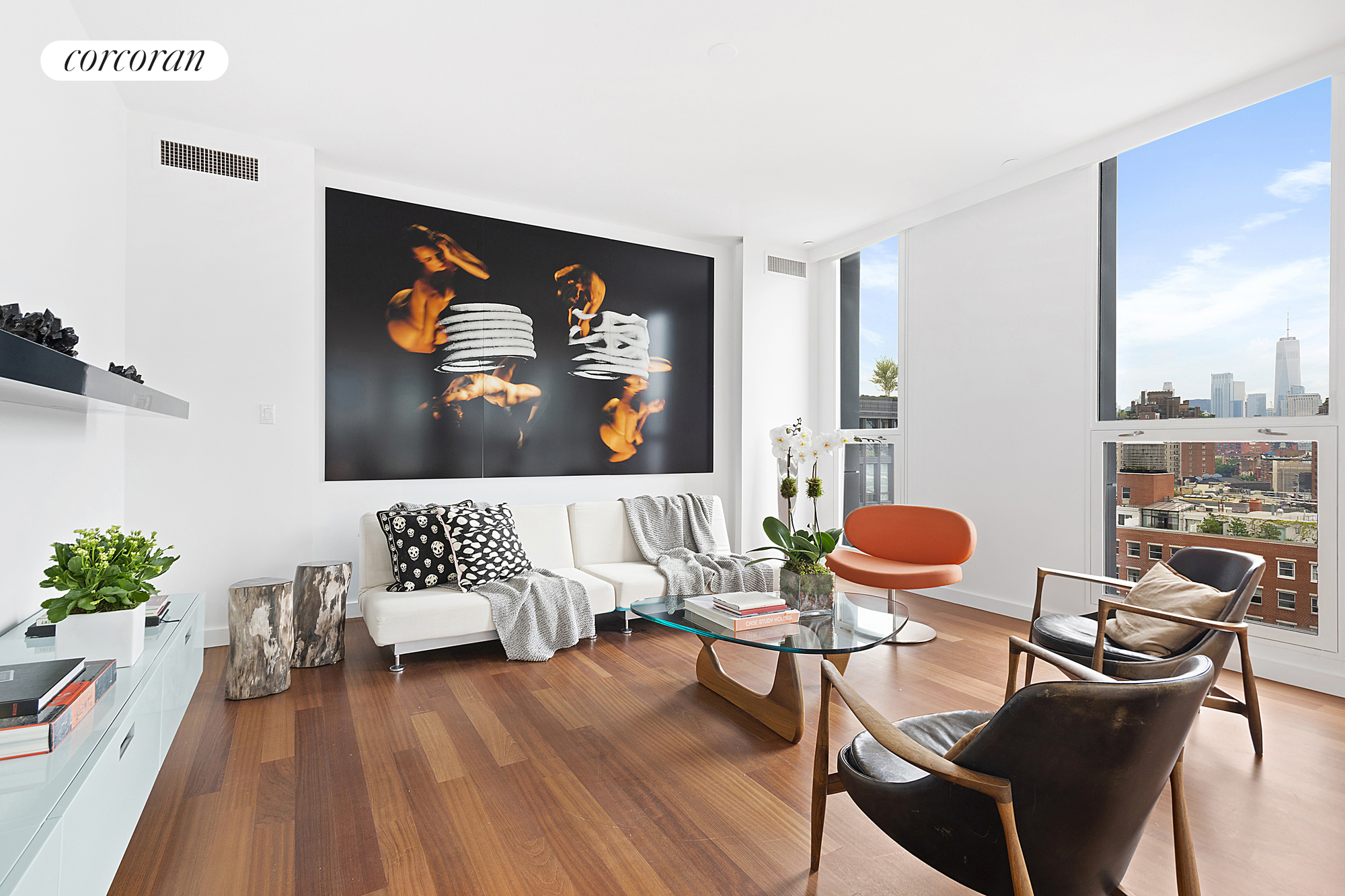66 Ninth Avenue, PHW, Living Room