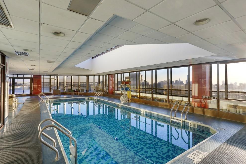Indoor Rooftop Pool
