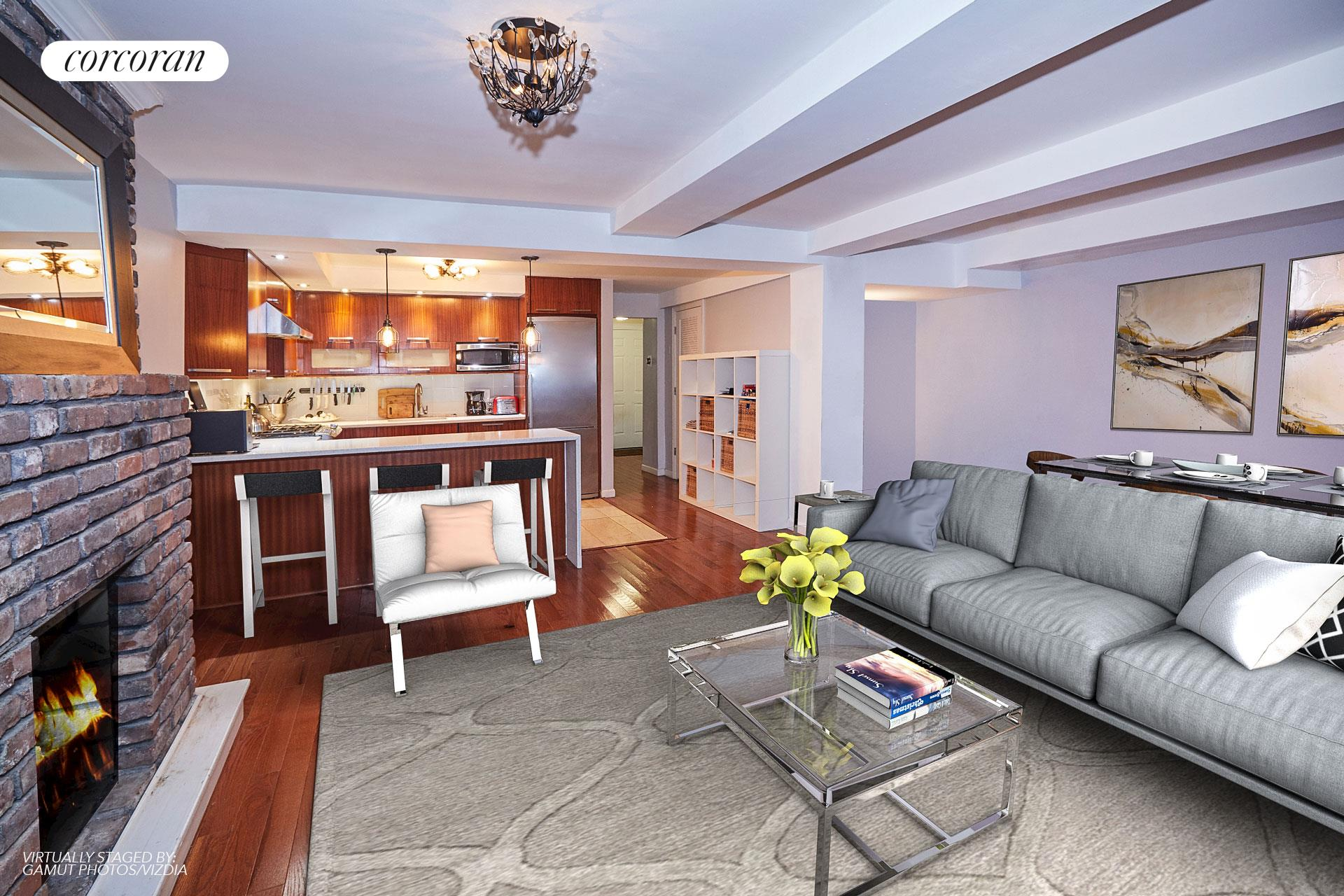 275 East 7th Street, 1, Living Room