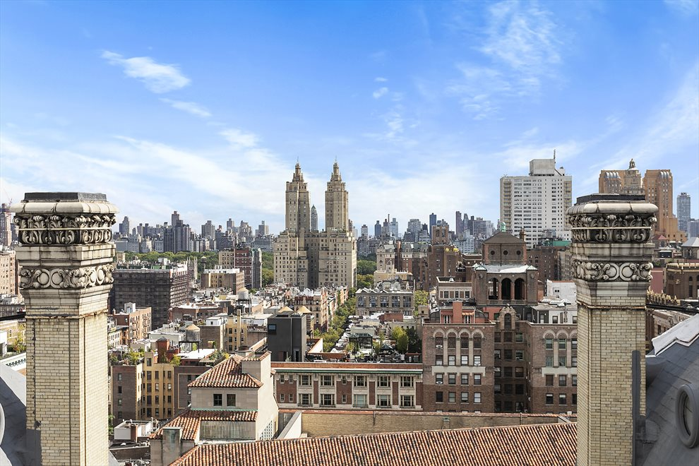 Stunning Roof Deck View East to Central Park