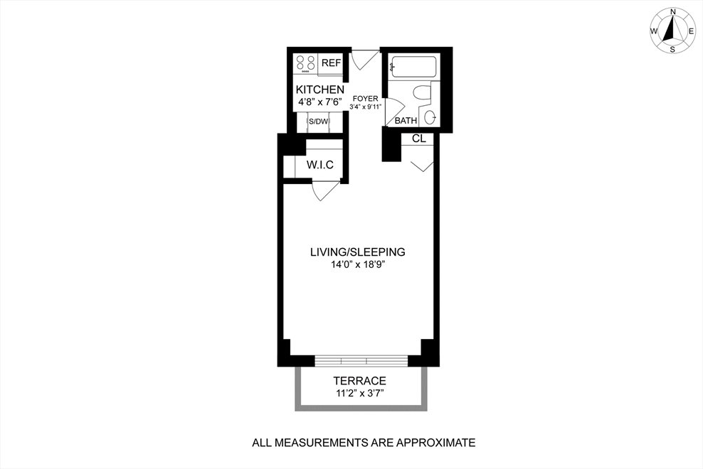 New York City Real Estate | View West 49th Street | Floorplan