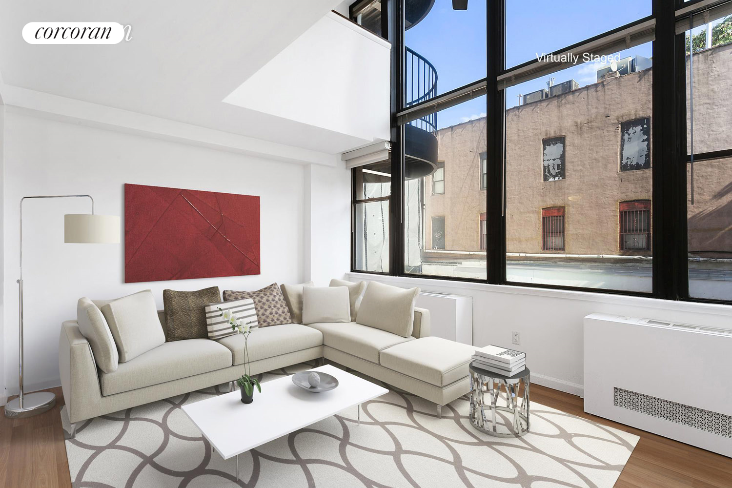 65 COOPER SQUARE, 3E, Living Room