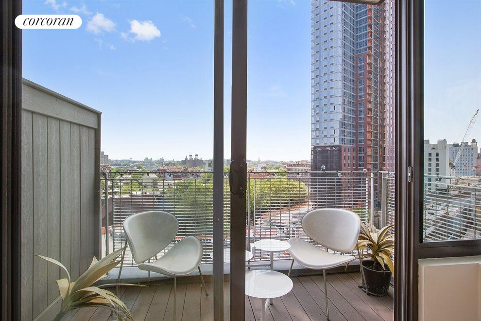 New York City Real Estate | View 96 Rockwell Place, #9A | Balcony