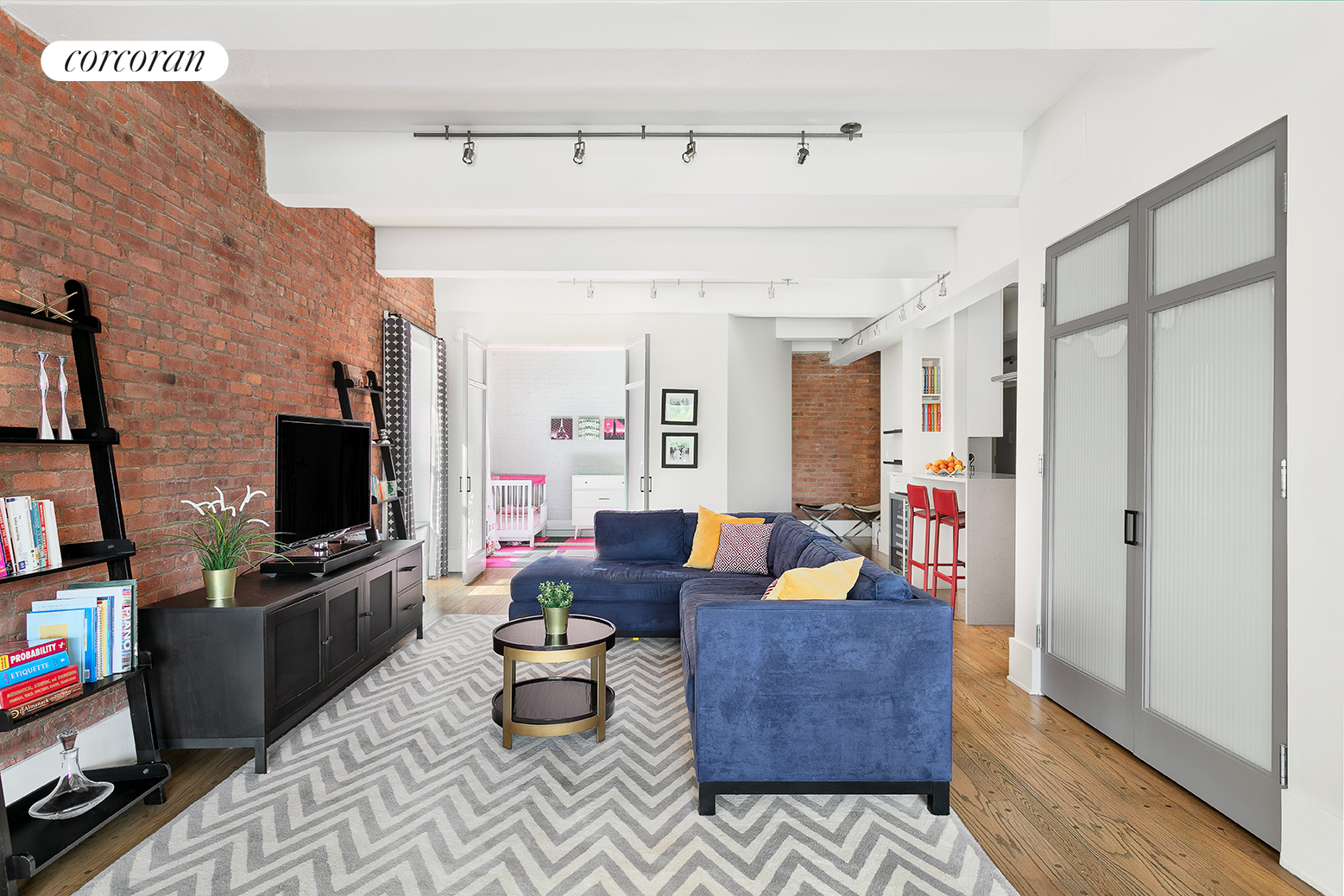 380 West 12th Street, 6C, Living Room