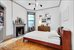50 West 9th Street, 2A, Master Bedroom with Wood Burning Fireplace
