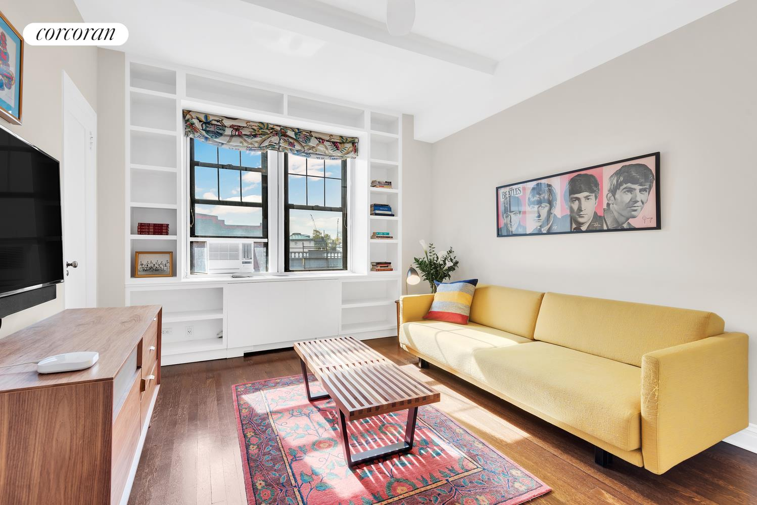 47 Plaza Street West, 5B, Living Room