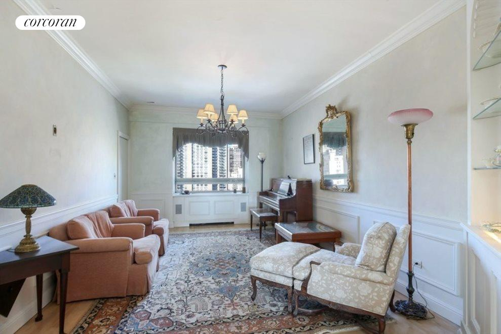 New York City Real Estate | View 180 East End Avenue, #21E | Formal Dining Room/Den