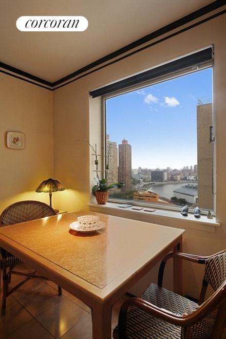 New York City Real Estate | View 180 East End Avenue, #21E | Breakfast Room/Maids