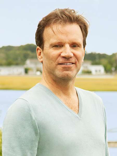 David Butland, a top realtor in The Hamptons for Corcoran, a real estate firm in Southampton.