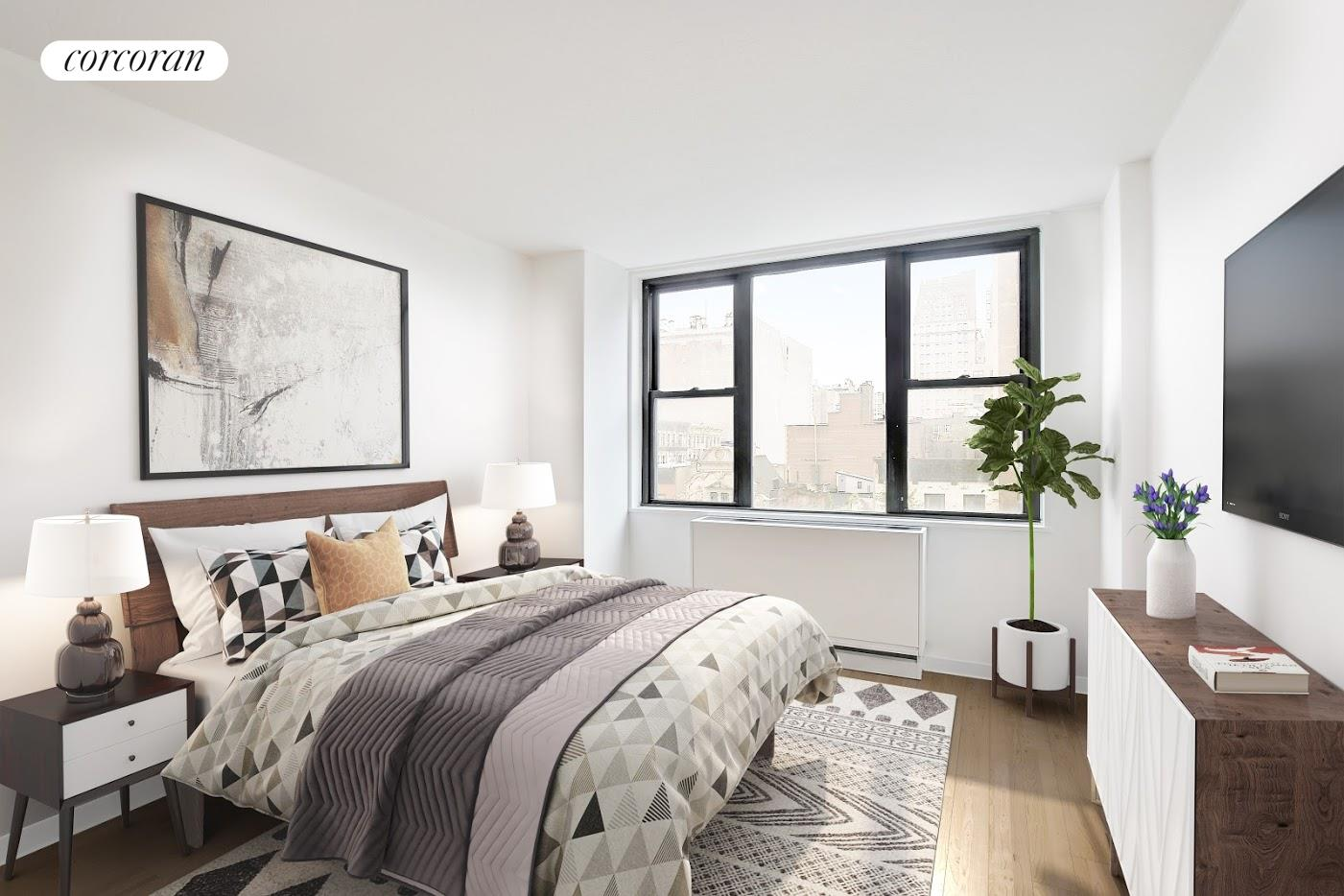 201 East 17th Street, 6E, Virtual Rendering