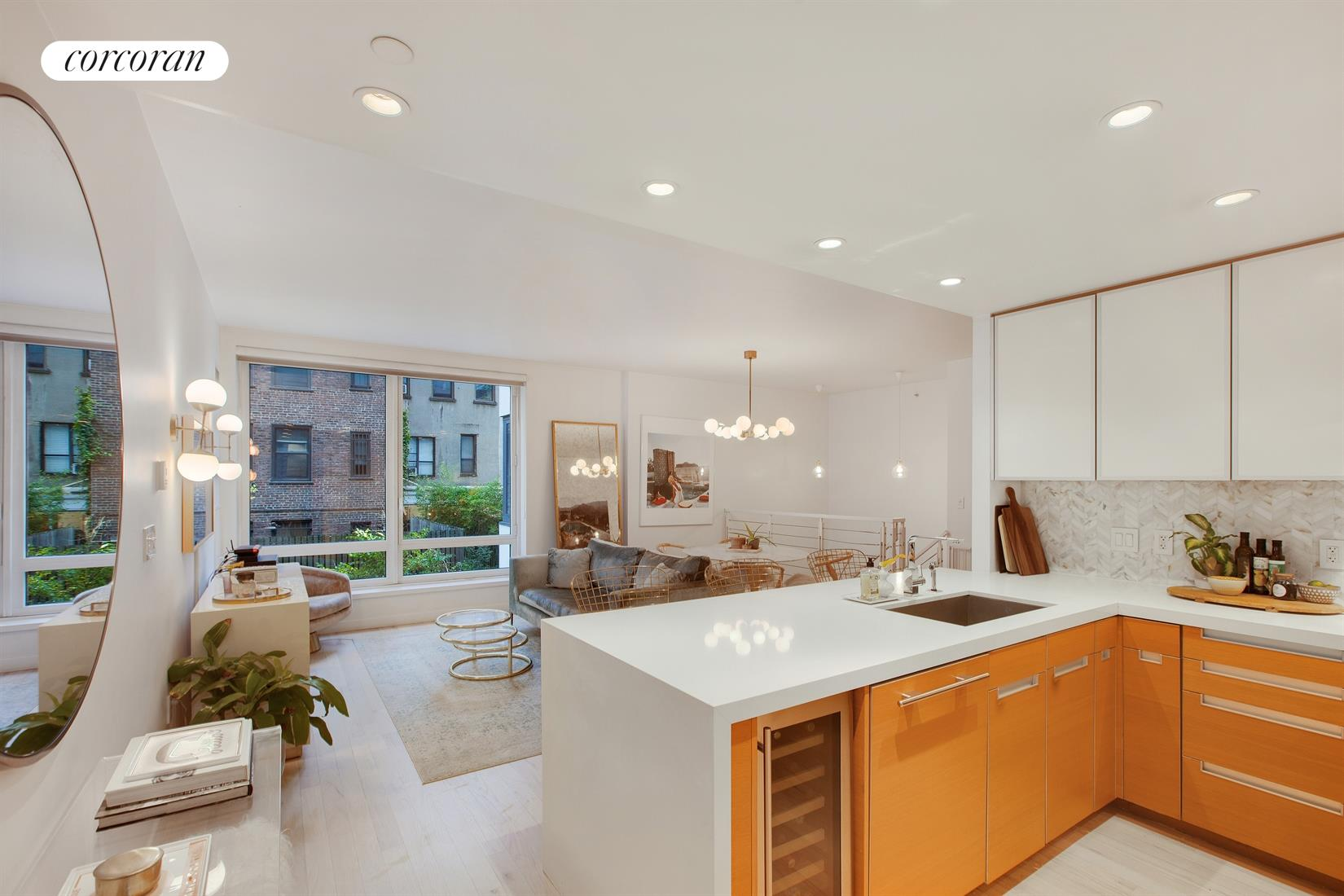 462 West 58th Street, 1G, Living Room