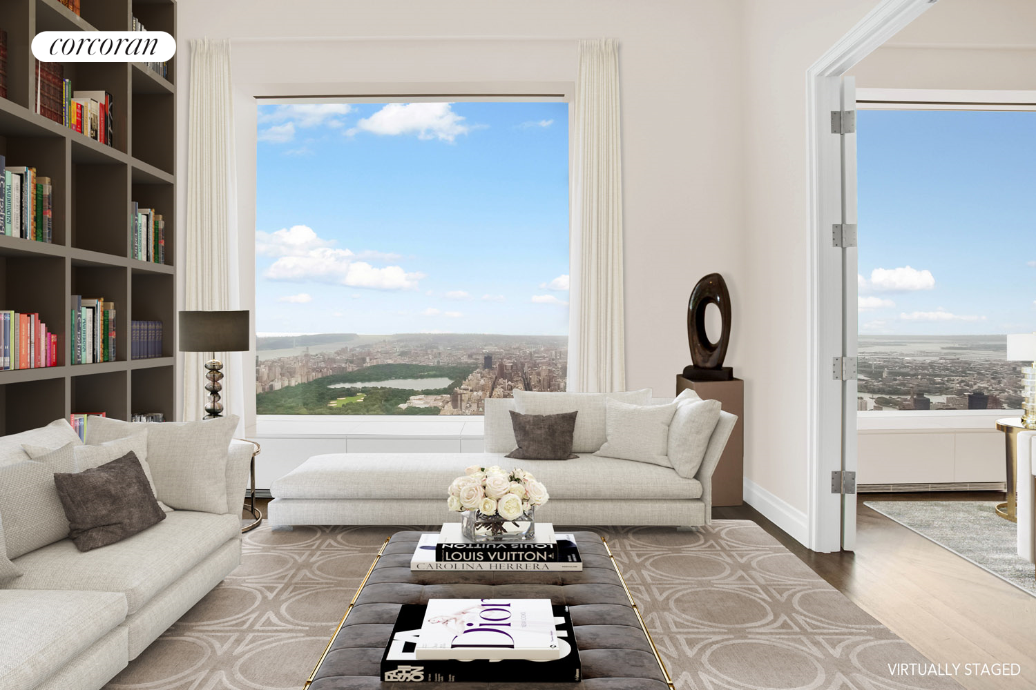 432 Park Avenue, 80A, Living/Dining Room