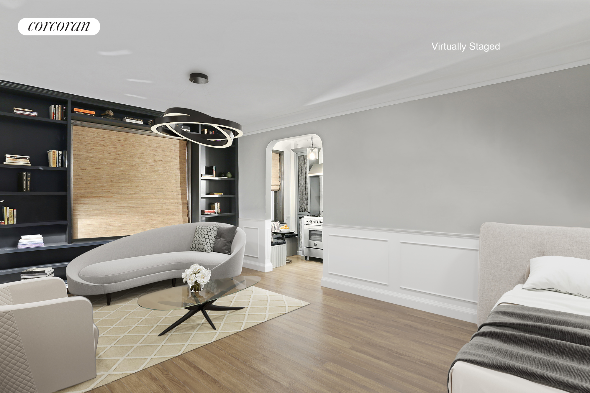 166 West 22, 4D, Living Room