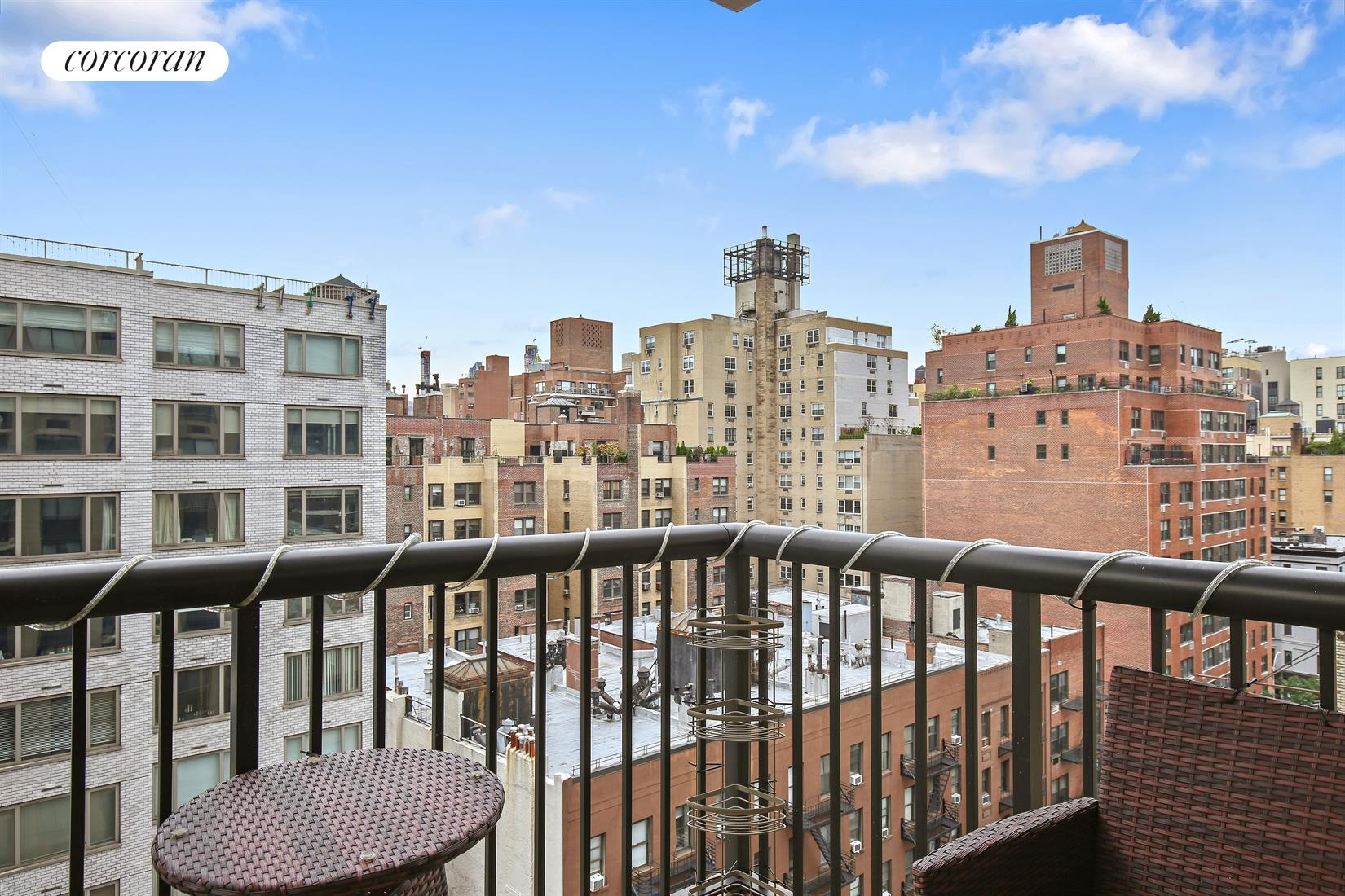171 East 84th Street, 11H, Bright, sunny living room with South exposure