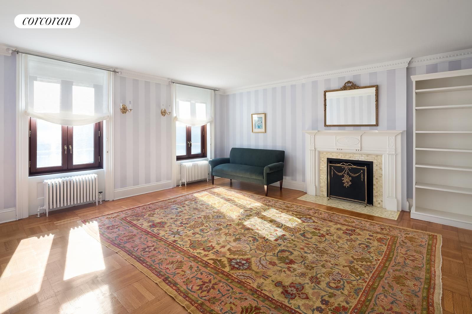 16 Remsen Street, Parlor floor living and dining rooms