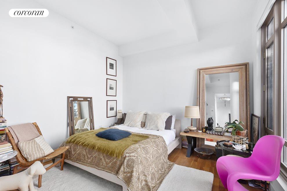 Bedroom with it's own door to the terrace