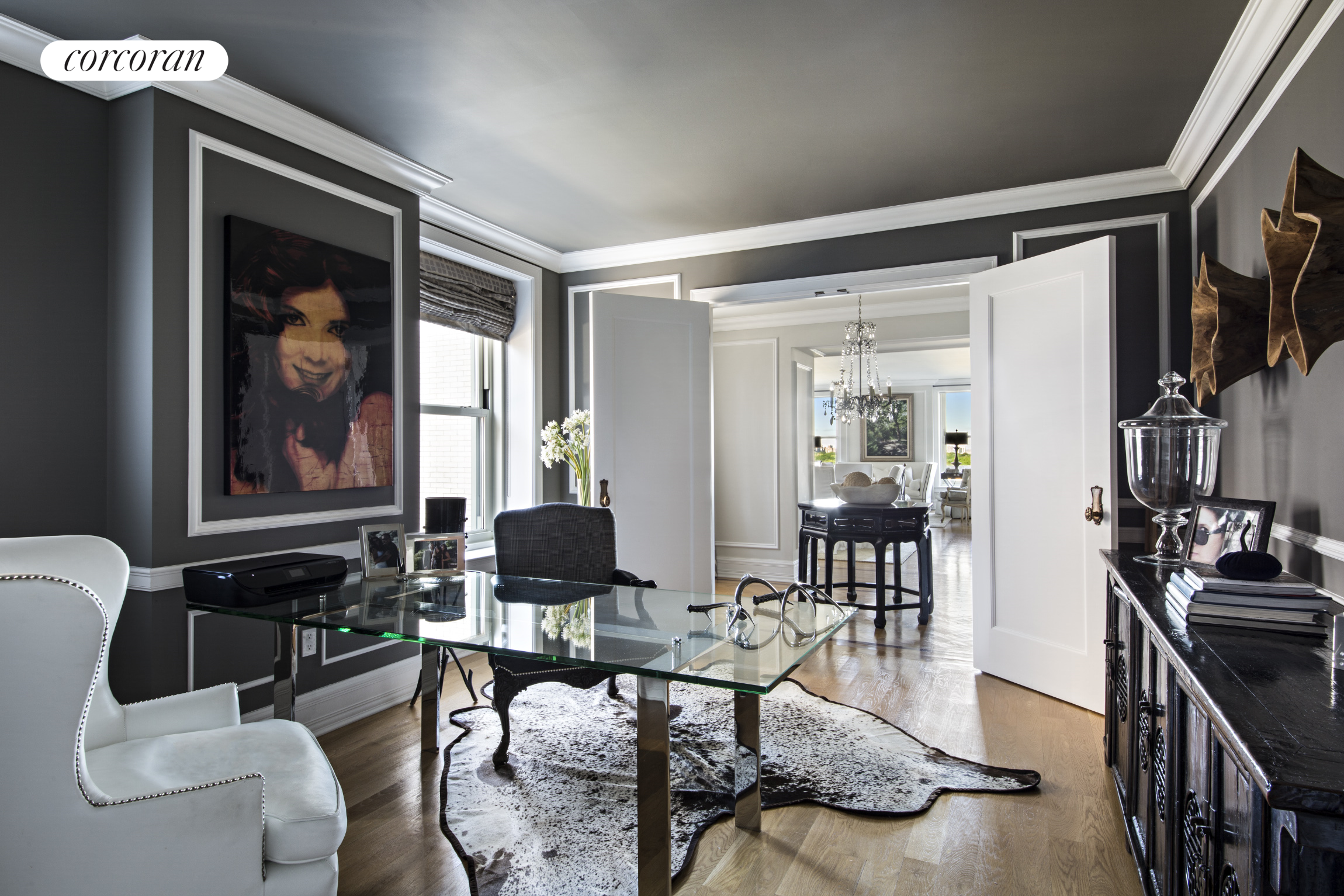 1 Central Park South, 1301, Living Room