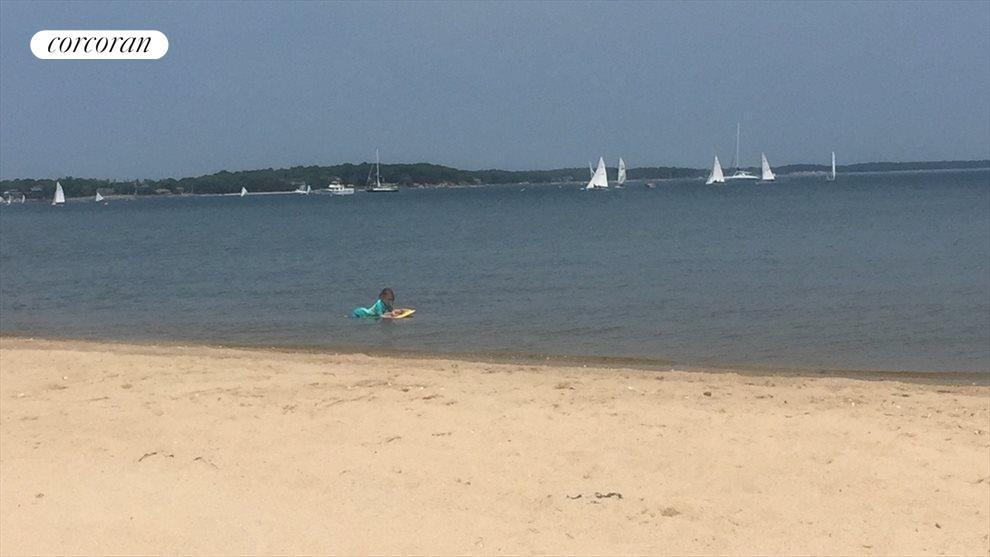Nearby bay beach