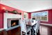 Bridgehampton, Dining Room with Fireplace