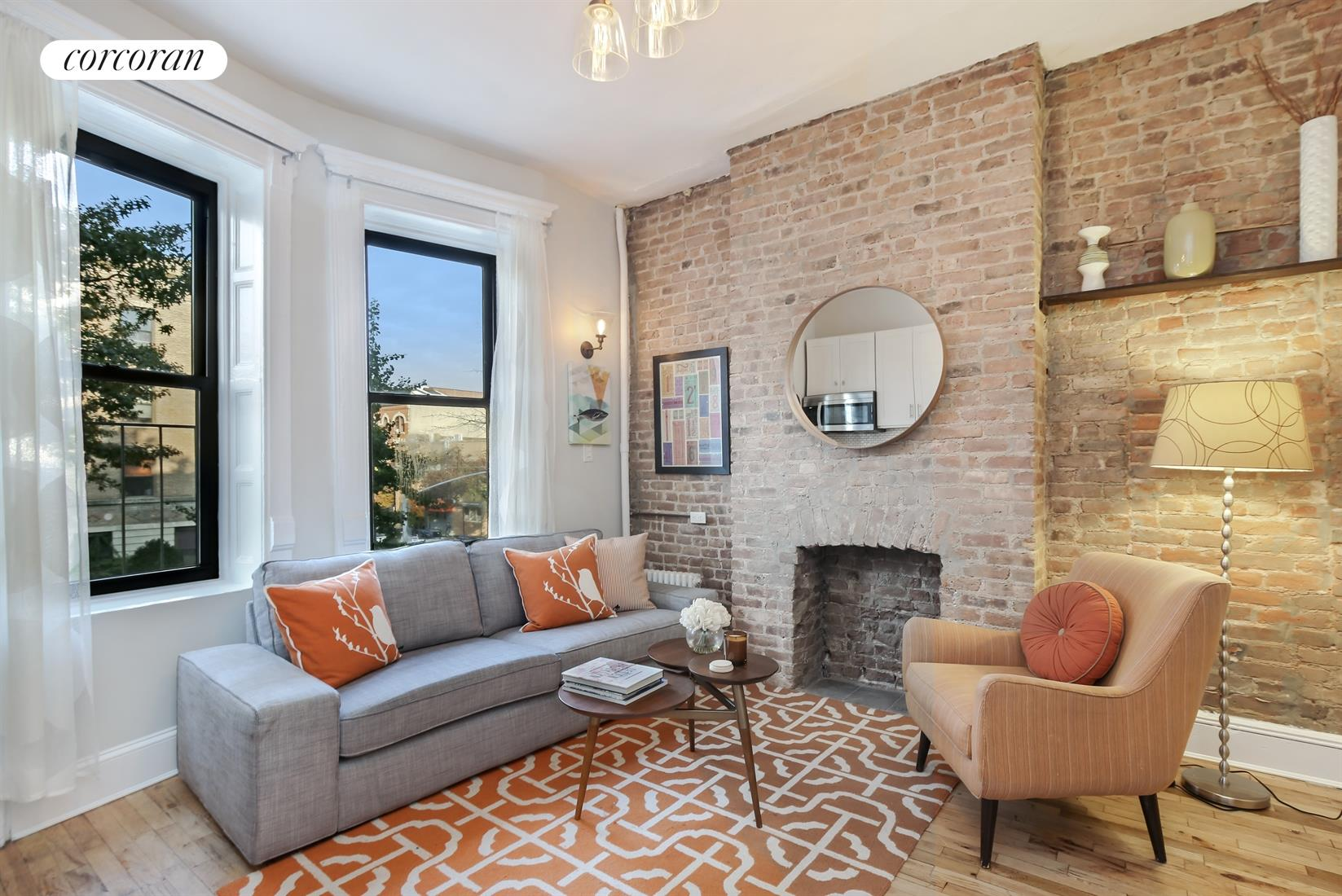 675 Vanderbilt Avenue, 1A, Living Room