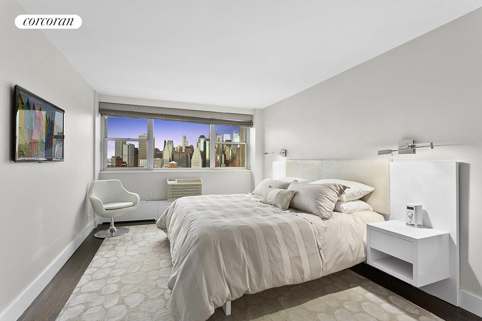 Beautiful bedroom with stunning views