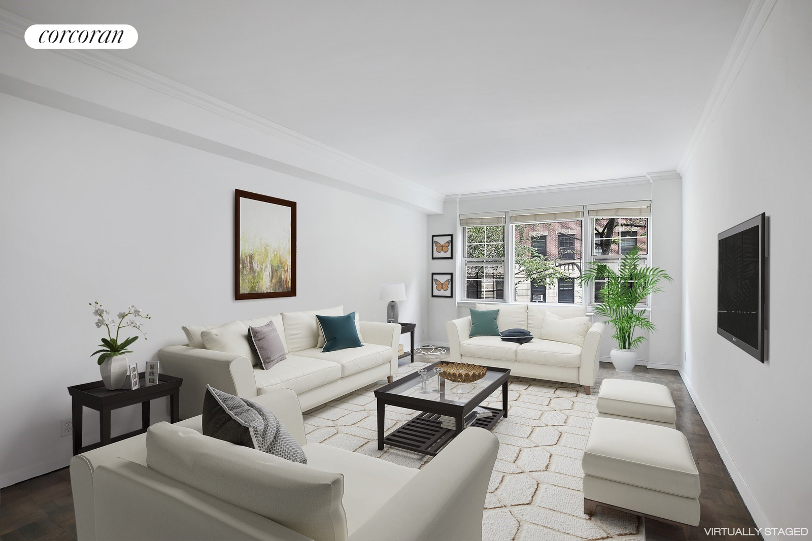 11 East 88th Street, 6BC, Living Room