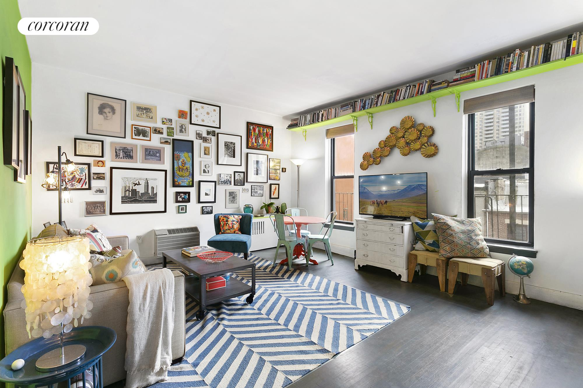 126 West 96th Street, 5E, Living Room