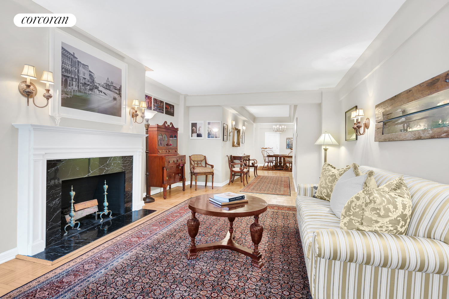 880 Fifth Avenue, 3K, Living Room