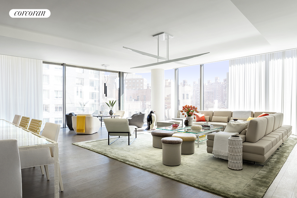520 West 28th Street, 20, Living Room