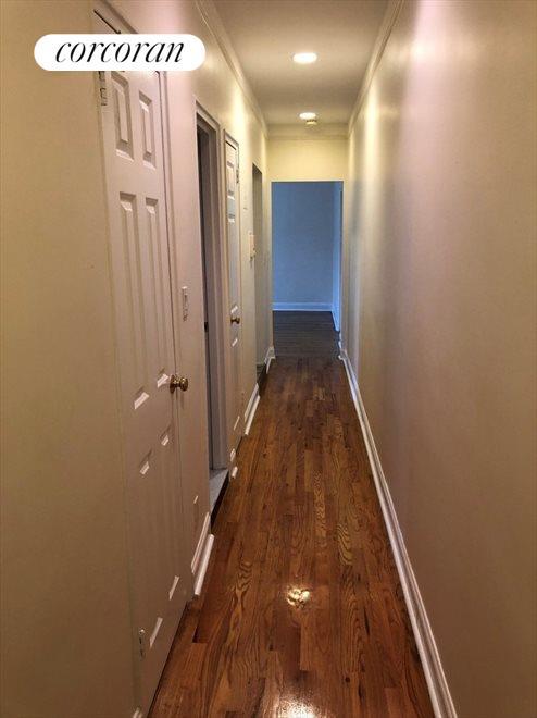 Multiple Closets in hallway