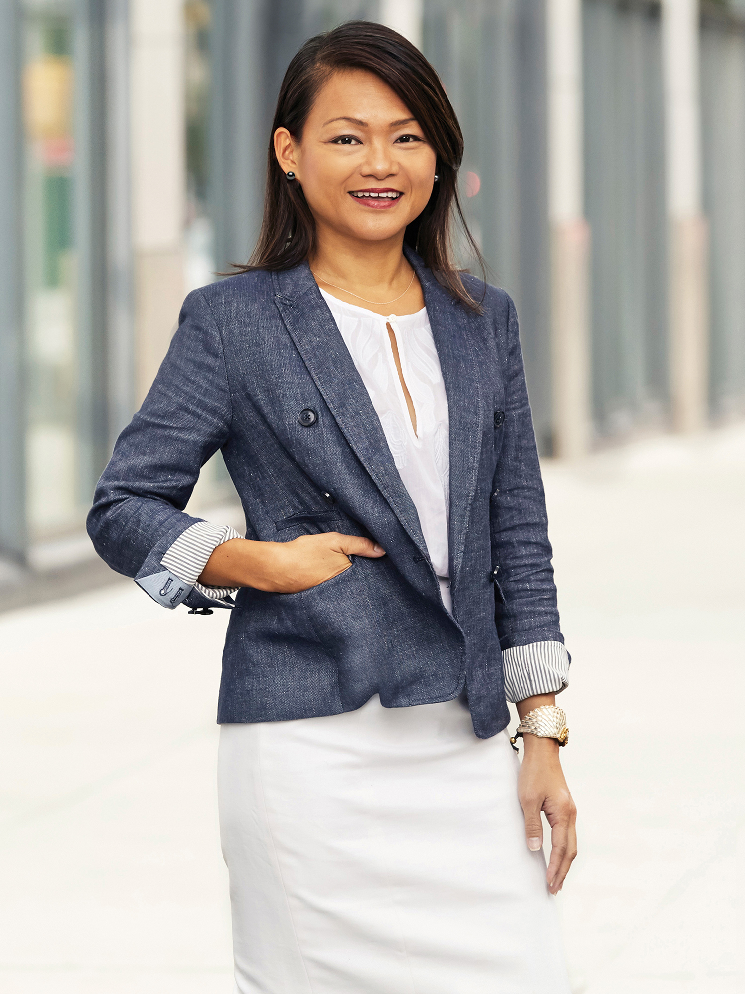 Jennie Ma, a top realtor in New York City for Corcoran, a real estate firm in Chelsea/Flatiron.